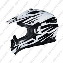 Shiro MX-734 Bravo White/Black