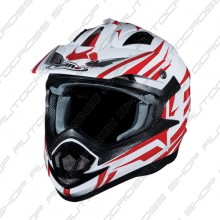 Shiro MX-734 Bravo White-Red