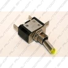 Schakelaar met LED geel