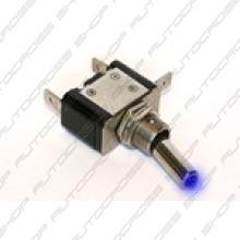 Schakelaar met LED blauw