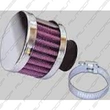 Chrome breather filter 13mm
