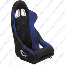 Sportstoel 'K5' - Zwart/Blauw - Vaste rugleuning - incl. sledes