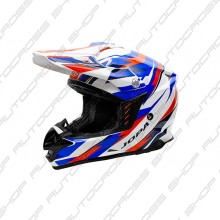 Jopa Helmet Locust II Scrum Red-Blue