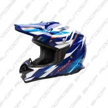 Jopa Helmet Locust II Scrum Blue-Orange