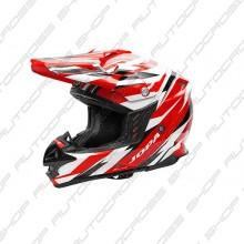 Jopa Helmet Locust II Scrum Red-White