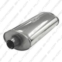 Uitlaatdemper 63.5 mm RVS Heavy