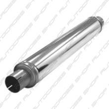 Uitlaatdemper 63.5 mm RVS Tubex