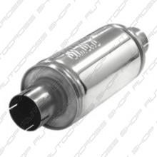 Uitlaatdemper 63.5 mm RVS Handy